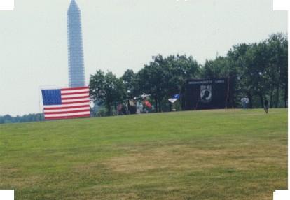 US Flag & Washington